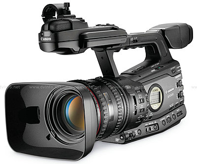 Press Release: Canon's New XF305 and XF300 Professional HD Camcorder-xfquarter1200.jpg