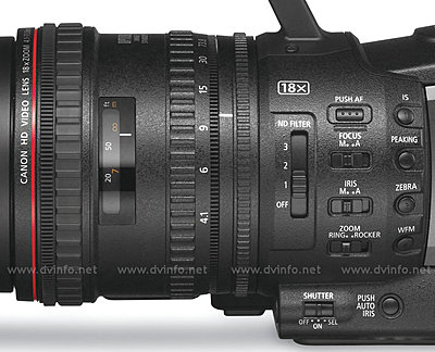 Press Release: Canon's New XF305 and XF300 Professional HD Camcorder-xflensdetail900.jpg