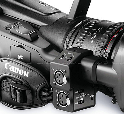 Press Release: Canon's New XF305 and XF300 Professional HD Camcorder-xfrightobdetail1200.jpg