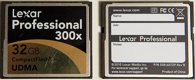 XF305 Arrived - Test Footage, Trials, Tribulations-lexar300x-32gb-cf.png
