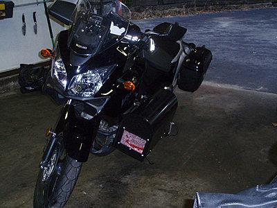 XH-A1 on motorcycle-v-strom1.jpg