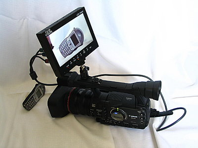 Totevision LCD field monitor + Canon battery power system-general-shot.jpg