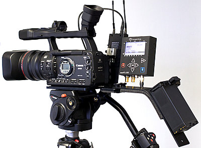 New Canon Stronger Tripod plate and NanoFlash + Wireless mic Wing system now shipping-canonplate5.jpg