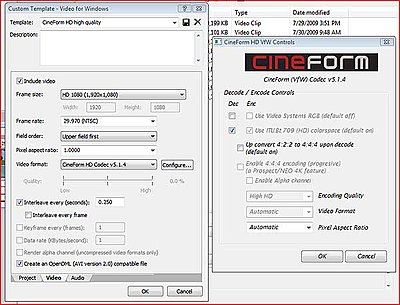 CineForm HD VfW Controls options greyed out?-cineform_options_greyed_out.jpg
