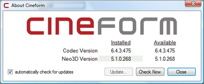 CineForm Neo (all levels) v5.1 is out-v510268.png