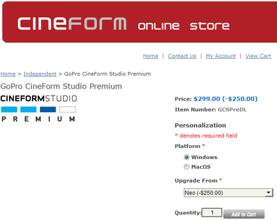 New GoPro CineForm product line is out today.-upgradefrom.png