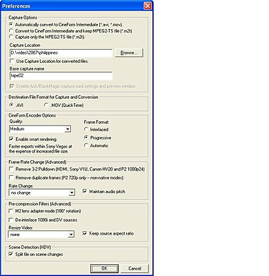 NEO-HDV: 30F/Cineform file - interlaced or progressive?-preferences.jpg