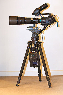 Simple but effective Flash XDR – Sony PMW EX3, tripod mounting-whole-set-up.jpg