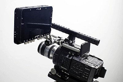New 7Q Monitor Mounting Solutions at NAB-movcam-odyssey-7q-cage-mount.jpeg