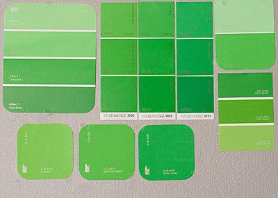 Great greenscreen paint from Home Depot-greens.jpg