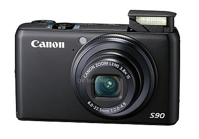 Canon USA announces HD-equipped PowerShot Cameras-s90a.jpg
