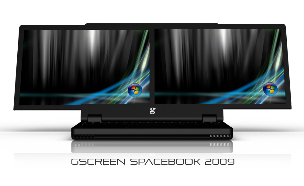 double screen laptop