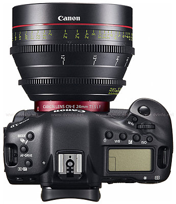Canon USA introduces EOS-1D C Digital SLR camera featuring 4K-eos1dlens24-top.jpg