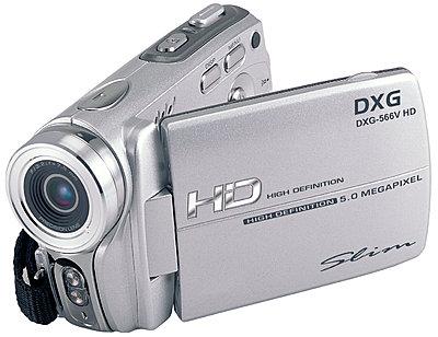 CES News: DXG-566V HD 720p camcorder for 0-dxg-566v-front-new-lens.jpg