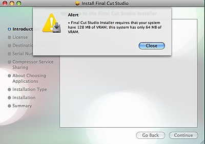 Any workarounds to install Final Cut Studio 3 on an 07 MacBook?-fcs3_install_warning.jpg
