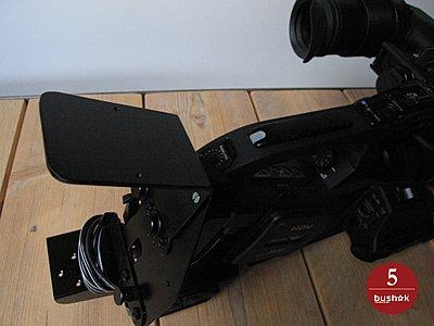 Mounting Firestore FS-CV on Canon XL-H1-clamp_firestore-fs-cv_05.jpg