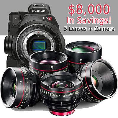 Canon Cinema EOS Rebates & 0% Lease Offers Expire Next Week-8koff_camera-5lenses.jpg