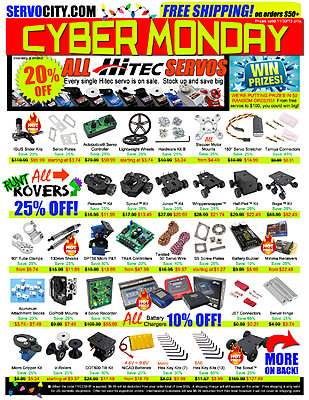 CYBER MONDAY - Save BIG with  ServoCity-cyber-monday-2015-flyer-back-.jpg