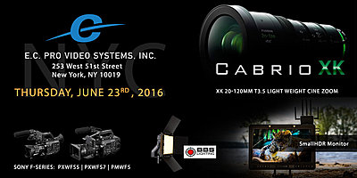 NYC: Hands on with Fujinon's New 20-120 Cine Zoom lens, SmallHD HDR Monitors, BBS Lig-event-june23-dv.jpg