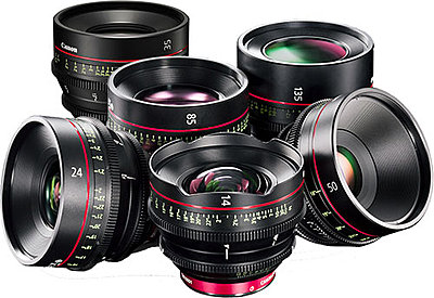 Canon Cinema Prime Set: 14mm, 24mm 35mm , 50mm, 85mm, & 135mm-canon_6-lens-texas-media-systems.jpg