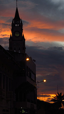 Camera security in hotels-church-sunset.jpg