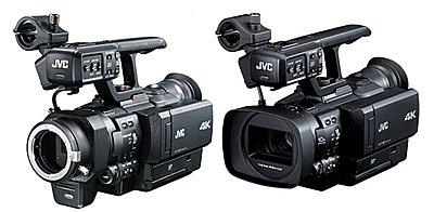 New JVC 4K Interchangeable Lens Camera Announced, JY-HMQ30-jvcsidebyside_689-1-.jpg