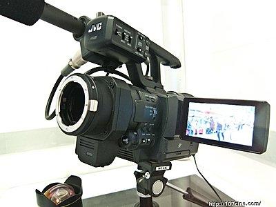 New JVC 4K Interchangeable Lens Camera Announced, JY-HMQ30-jvc-4k.jpg