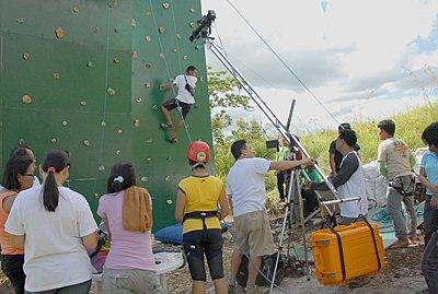 Anyone use 35 mm DOF adapters?-setting-up-jib-wall-climb-scene.jpg