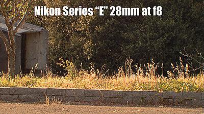 MTF adatper and Nikon lenses, Good?  Depends upon lens.-nikone28mmf8redone.jpg