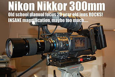 MTF adatper and Nikon lenses, Good?  Depends upon lens.-nikkor300mmjvc.jpg
