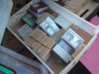 Rescuing video tape archives from the floods-muddy-tapes-1.jpg