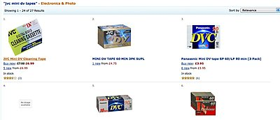 Time to hoard mini-DV tapes?-amazon.jpg