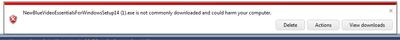 VideoEssentials download problems-error.png