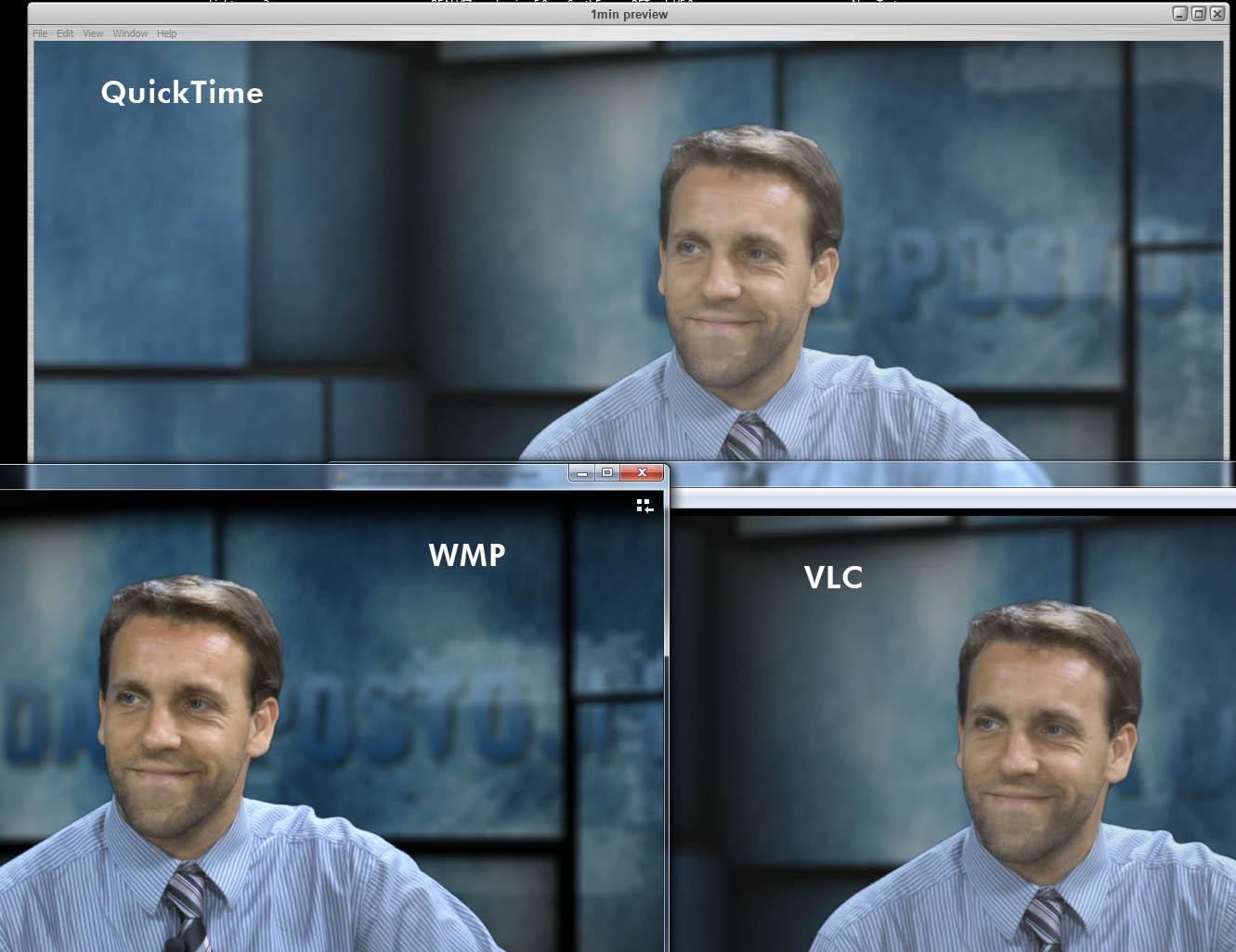 Video editing using vlc