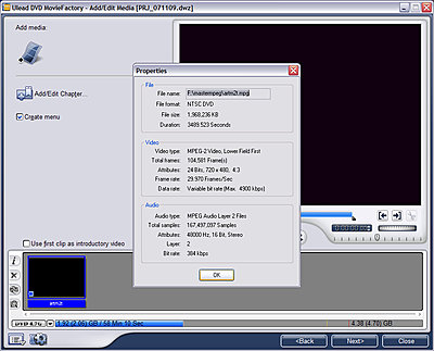 Help!  Burned an MPEG3 master.  Authoring company says it's MPEG1!-artmpeg2cap.jpg