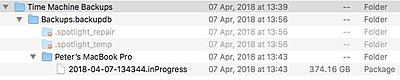 Mac Sierra Users:  Don't Upgrade to High-Sierra - yet-2018-04-07-timemachine-inprogress-backup-folders.jpeg