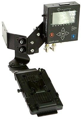 Affordable simple AF-100 Shoulder Bracket with battery plate-af100_nf19.jpg