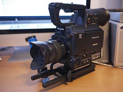 Lumix 12-35mm on the AF100-12-35mm.jpg