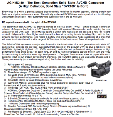 Press Release: Panasonic unveils HMC150 pricing and ship date-page-1.png