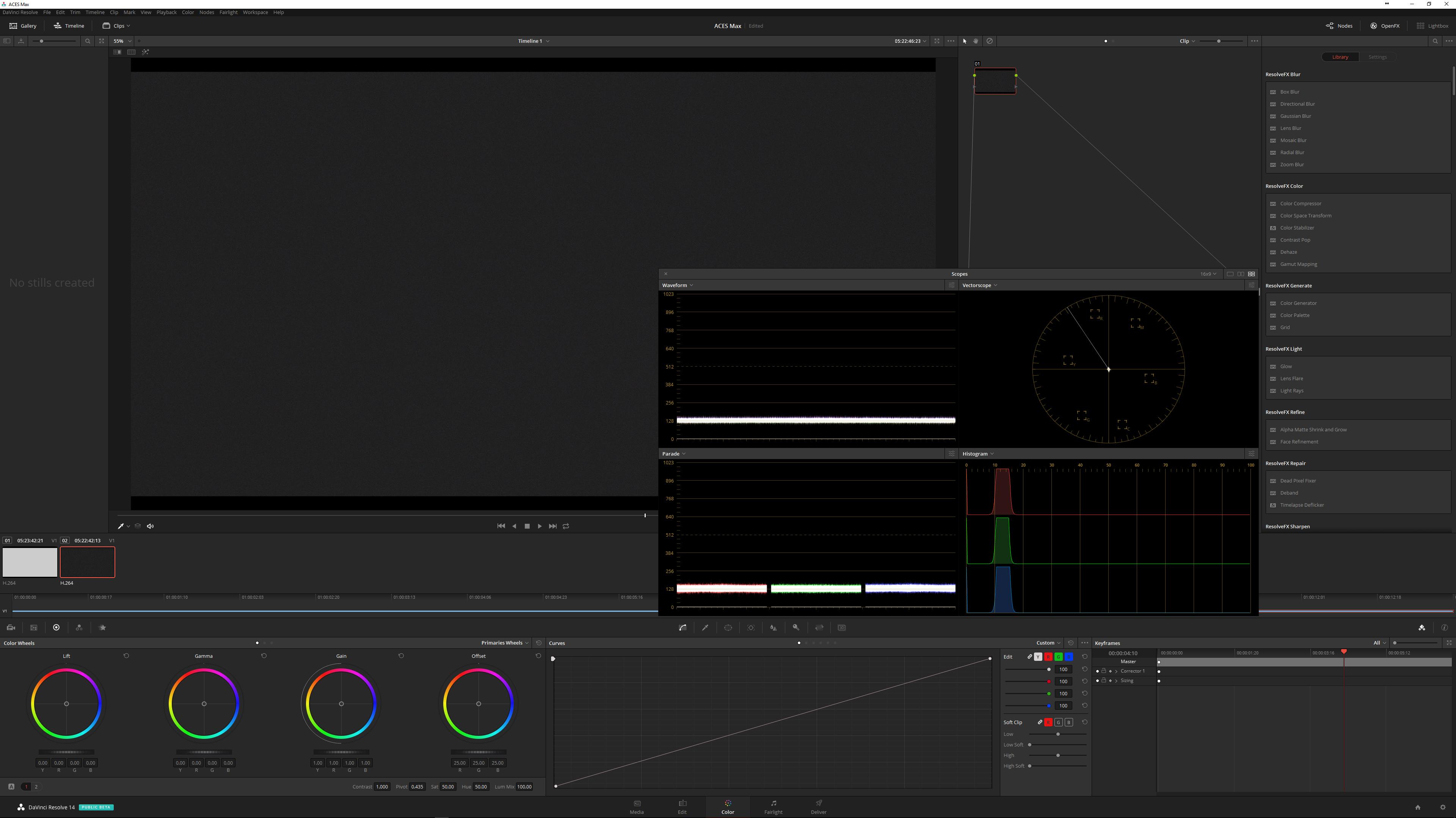 GH5 Waveform Display Calibration in VLog at DVinfo net