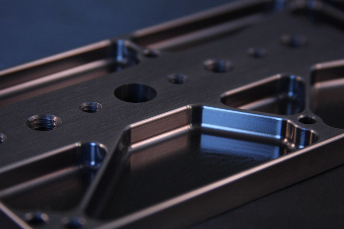 New Cnc Machined Aluminum Base Plate For The Hvx200 And