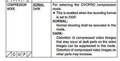 Normal or Dark Compression / HDX-900 VTR Menu-dark-compression.jpg