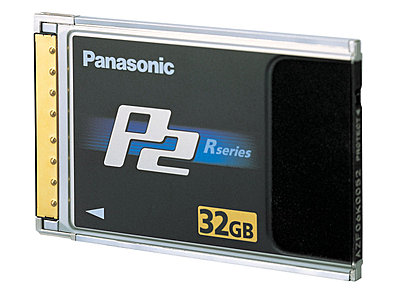 Press Release: Panasonic introduces 32GB P2 memory card-p232gbcard.jpg