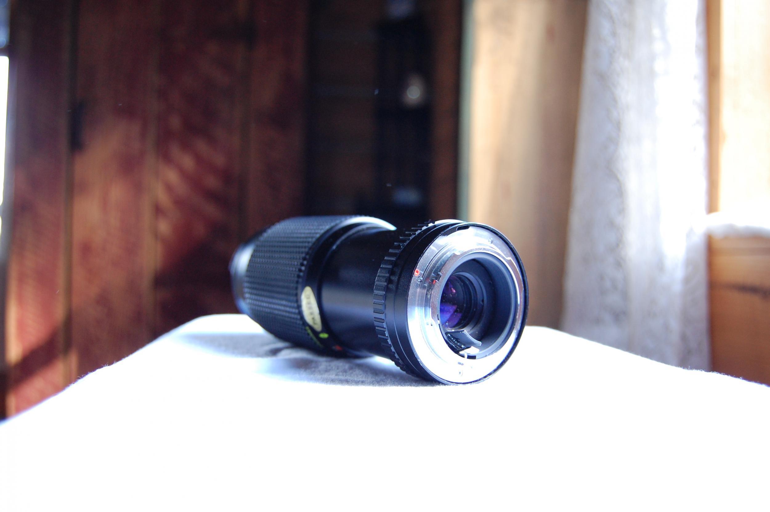 quantaray 80 205mm manual focus lens at dvinfo net rh dvinfo net Quantaray Color Wheel Quantaray Tripod