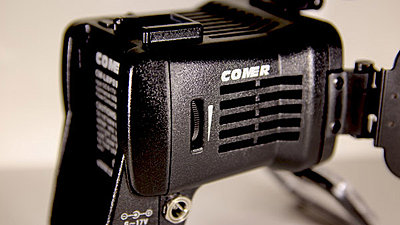 Comer CM-900b On-Camera LED Light Second Generation Model-900dimmer.jpg