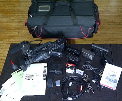 Private Classifieds listings from 2010-jvc-gy-hd110-everything.jpg
