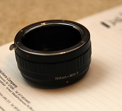 Private Classifieds listings from 2011-nikon-mft-adapter.jpg