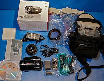 Private Classifieds listings from 2012-canon-hf-s30-package-298.jpg