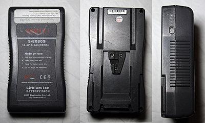 ABC Crane Remote Head V5 + Vlock battery + Vlock double charger-battery1.jpg