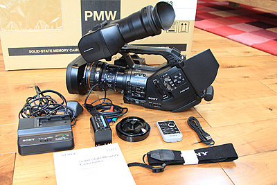 Sony PMW-EX3 in immaculate condition - BRAND NEW LENS - only 308 hours! - UK-ex3-1.jpg